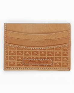 Embossed Marlin Card Case