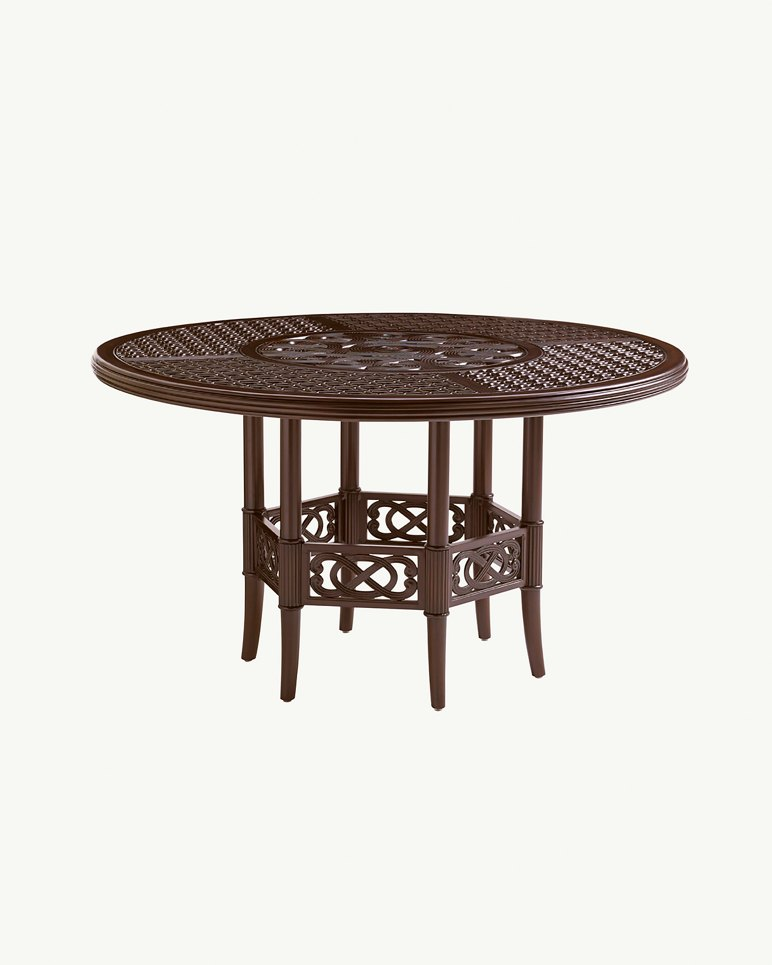 round dining table top and base