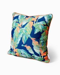 Bahama Leaves 20-Inch Pillow