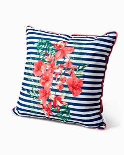 Stripes Bouquet 20-Inch Pillow