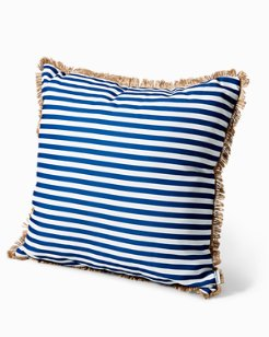 Seaside Stripes 24-Inch Pillow