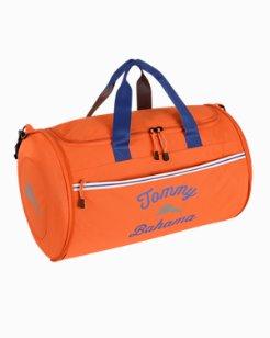 Tumbler Clamshell Duffel Bag - Orange