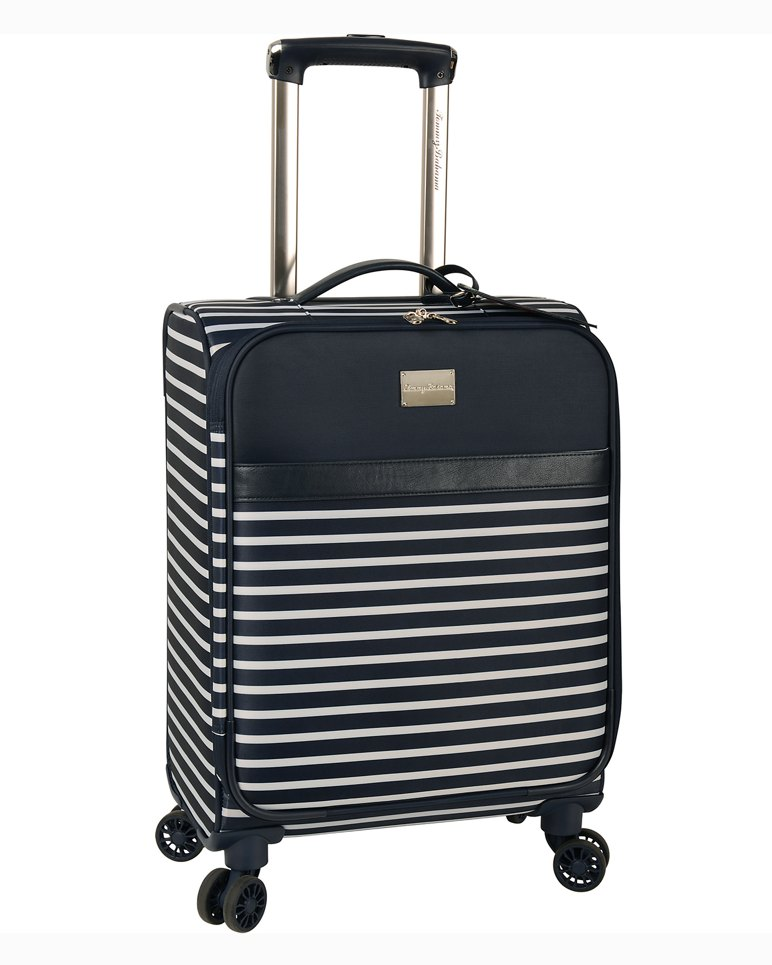 Main Image for Breton Blooms Upright Rolling Suitcase