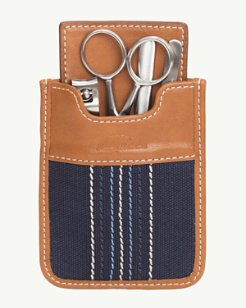 Canvas & Leather Manicure Kit
