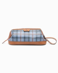 Plaid Toiletry Bag