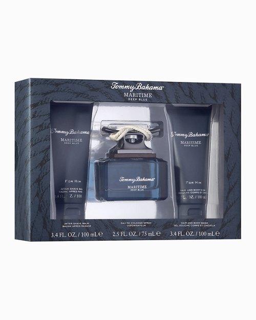 Maritime Deep Blue 2.5-oz. Cologne 3-Piece Gift Set ($105 Value)