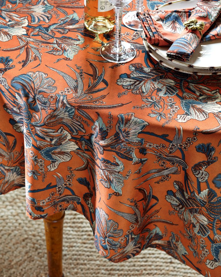 70 Inch Round Table Cloth.Catavina Bay 70 Inch Round Tablecloth