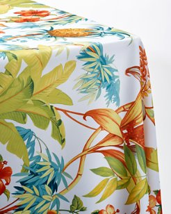 Tortuga Paradise 60x120-inch Oblong Tablecloth