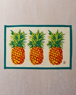 Tortuga Paradise Pineapple Placemat