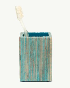 Water Hyacinth Toothbrush Holder