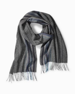 Multi Stripe Wool Scarf