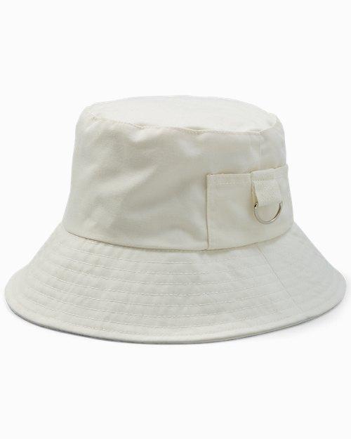 Solid Cotton Bucket Hat