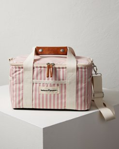 Pink Stripe Insulated Cooler