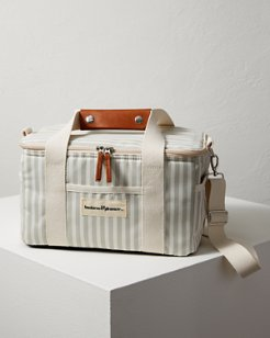 Green Stripe Insulated Cooler