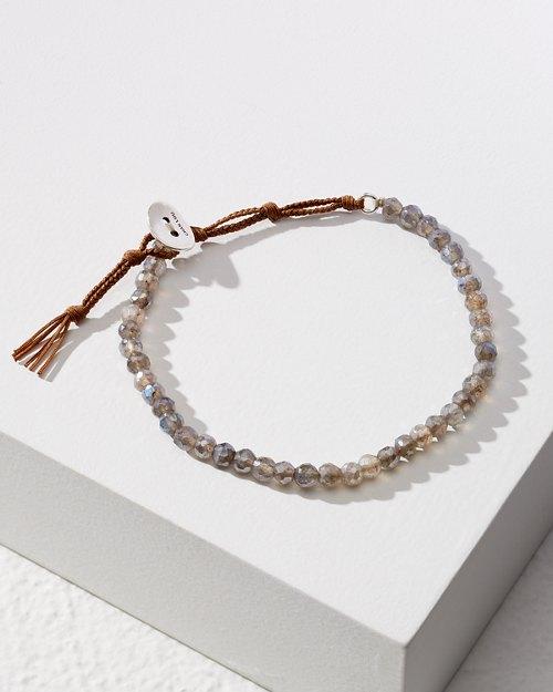 Mystic Labradorite Single-Wrap Bracelet