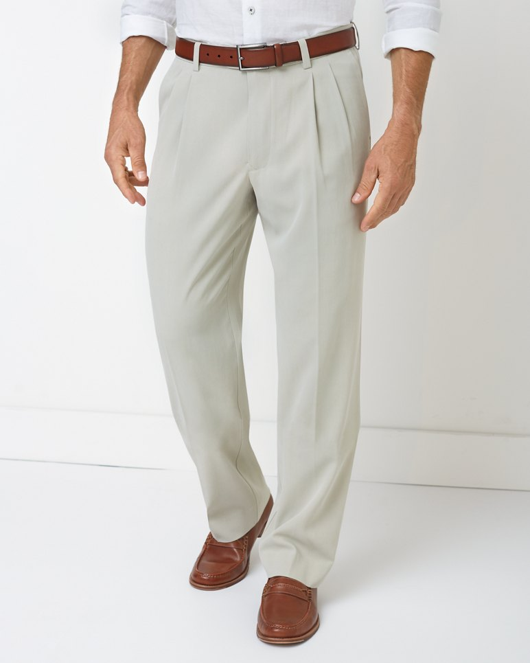 Main Image for Big & Tall New St. Thomas Relaxed Double-Pleat Pants