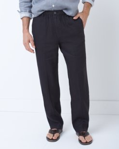 Big & Tall Linen on the Beach Easy Fit Pants