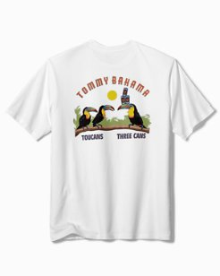 Big & Tall Three Cans T-Shirt