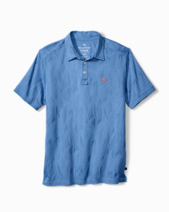 Big & Tall Tropicool IslandZone® Palms Polo