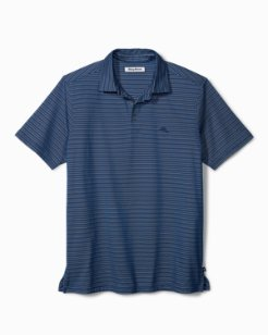 Big & Tall New On Par Stripe Polo