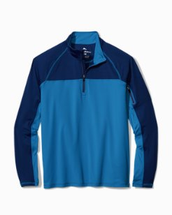 Big & Tall IslandActive™ Flagler Pier Half-Zip