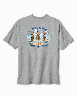 Big & Tall Fringe Watching T-Shirt