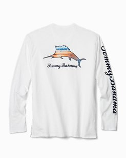 Big & Tall Scenic Billboard Marlin Lux Long-Sleeve T-Shirt