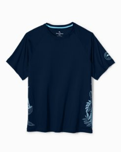 Big & Tall IslandActive™ Mateo Fronds T-Shirt
