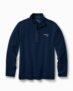 Big & Tall NFL Ben & Terry Coast Half-Zip Sweatshirt