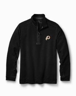 Big & Tall NFL Ben & Terry Coast Half-Zip Sweatshirt