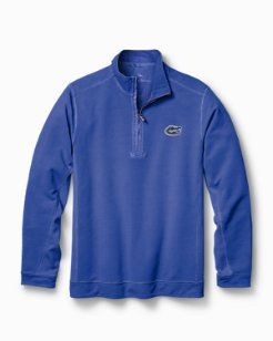 Big & Tall Collegiate Ben & Terry Coast Half-Zip Sweatshirt