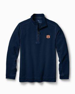 Big & Tall Collegiate Ben & Terry Coast Half-Zip Sweatshirt