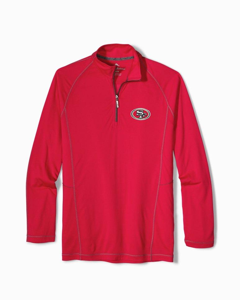 quality design eb9b3 79bfc Big & Tall NFL Goal Keeper Half-Zip Sweatshirt