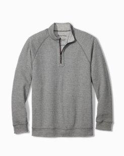 Big & Tall On The Double Reversible Half-Zip Sweatshirt