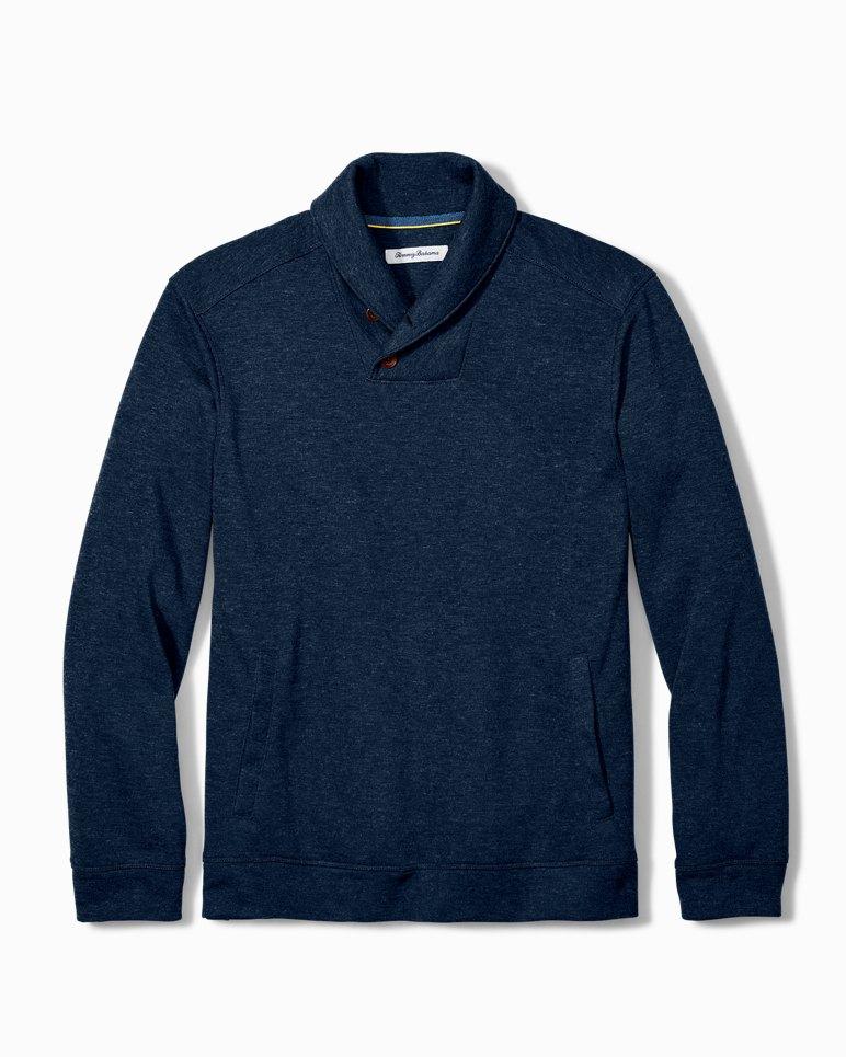 Main Image for Big & Tall Sandbar Shawl Collar Sweatshirt