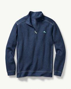 Big & Tall Nassau Half-Zip Sweatshirt