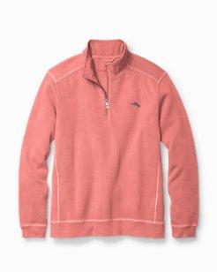 Big & Tall Nassau Half-Zip Sweatshirt
