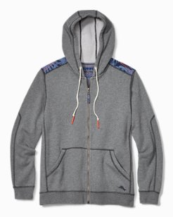 Tommy Bahama & Pendleton® Big & Tall Island Serape Full-Zip Hoodie