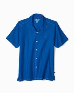 Big & Tall Tropicool Piqué IslandZone® Knit Camp Shirt