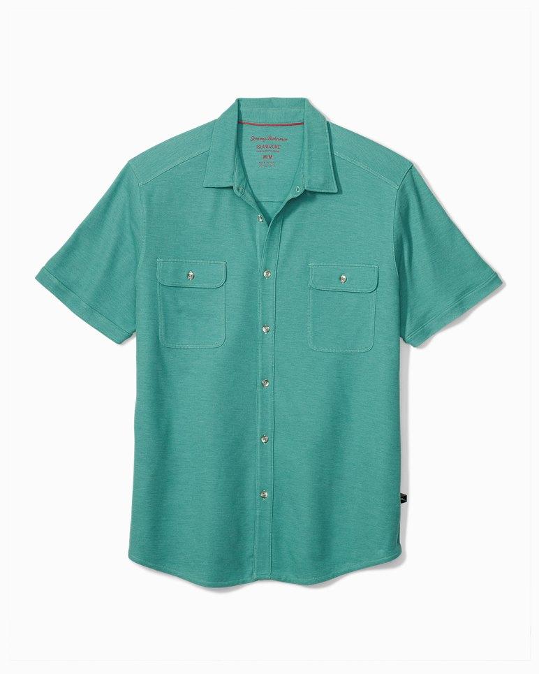 Main Image for Big & Tall Tropicool Seas Button IslandZone® Shirt