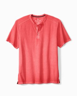 Big & Tall Cirrus Coast Short-Sleeve Henley