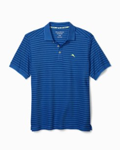 Big & Tall Emfielder Tidal Stripe Polo