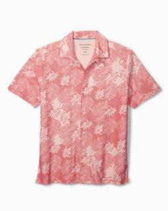 Big & Tall Falling Fronds IslandZone® Camp Shirt