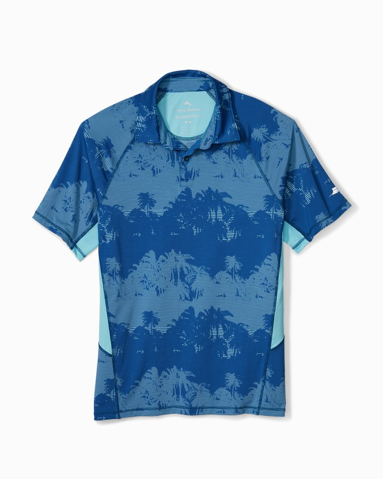 Main Image for Big & Tall IslandActive® Pixel Palms Polo