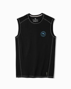 Big & Tall IslandActive® Breakline Sleeveless Shirt