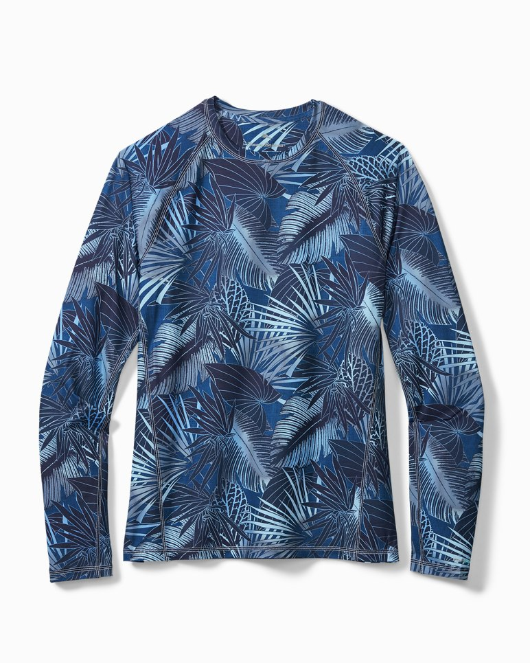 Main Image for Big & Tall IslandActive® Midnight Jungle Long-Sleeve T-Shirt