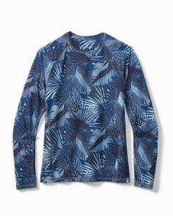 Big & Tall IslandActive® Midnight Jungle Long-Sleeve T-Shirt
