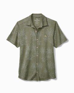 Big & Tall Mahanaha Knit Camp Shirt