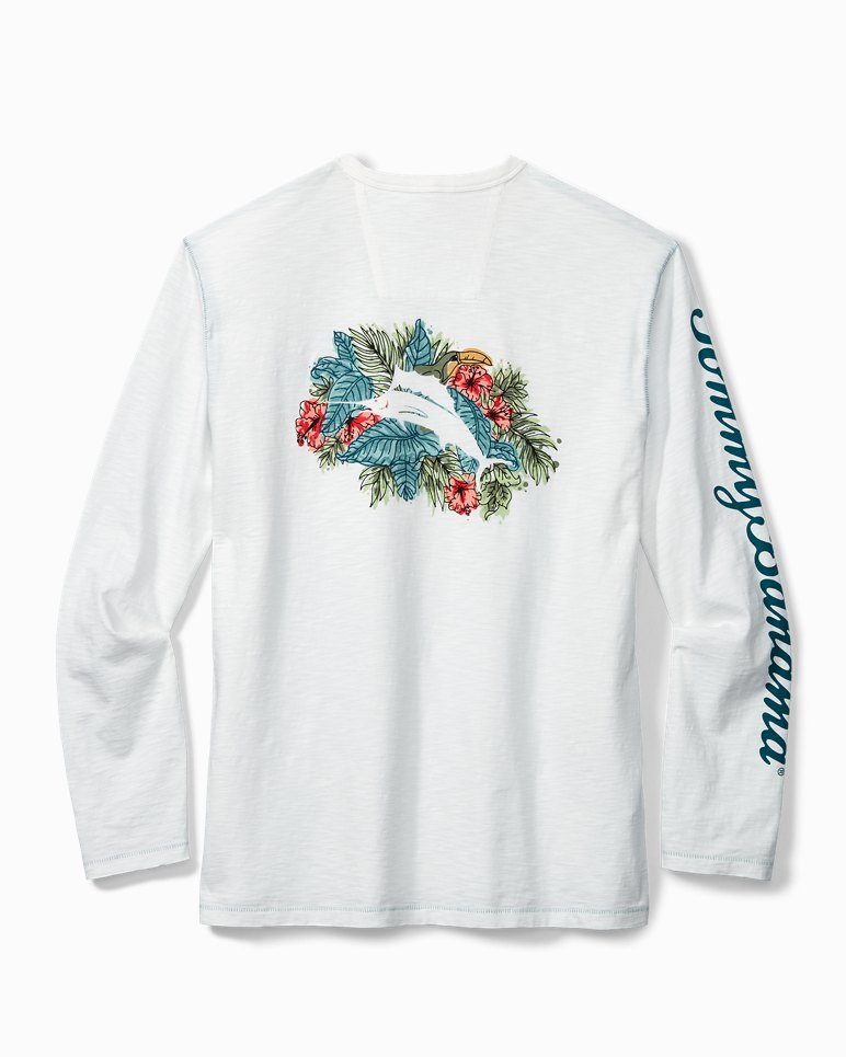 Main Image for Big & Tall Marlin Hideaway Lux Long-Sleeve T-Shirt