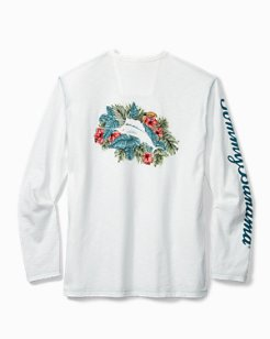 Big & Tall Marlin Hideaway Lux Long-Sleeve T-Shirt